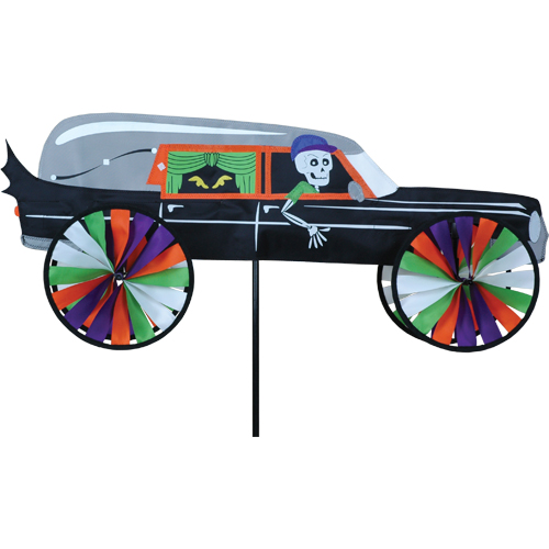 # 25697 : Haunted Hearse  Vehicle Spinners  upc #  63010425697