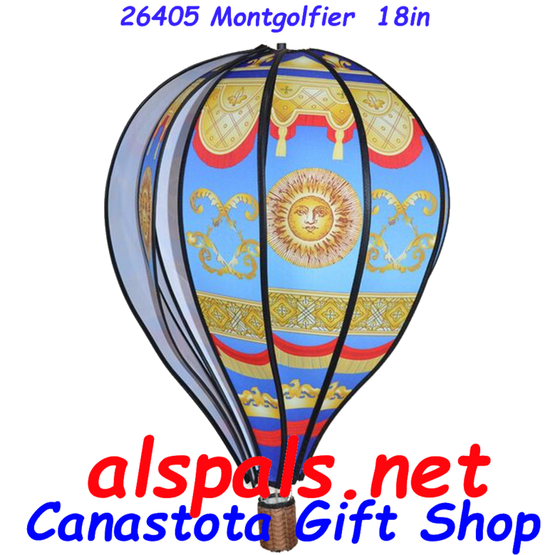 # 26405 : Montgolfier  Hot Air Balloon upc# 63010426405 18 inch diameter