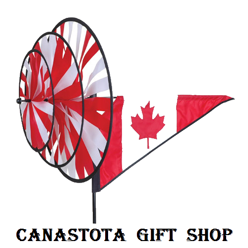# 27122 : Canada  Triple Spinners  upc #  63010427122